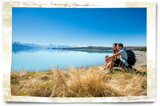 The Locals Lake Pukaki - A New Zealand Road Trip By Rental Campervan